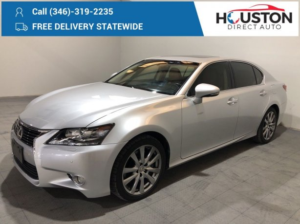 Used 2013 Lexus GS for sale in Houston TX.  We Finance!