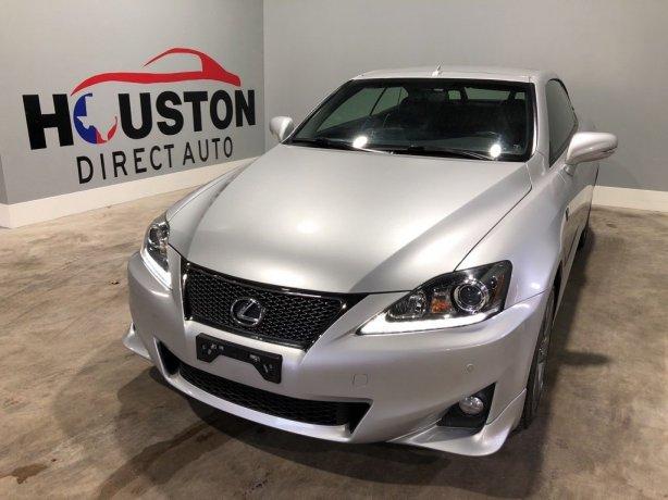 Used 2013 Lexus IS for sale in Houston TX.  We Finance!