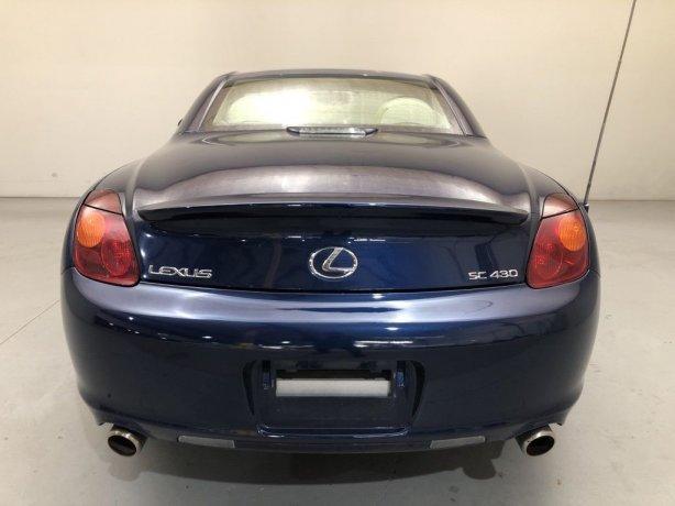 used 2002 Lexus SC