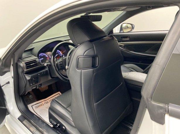 used 2015 Lexus RC for sale Houston TX