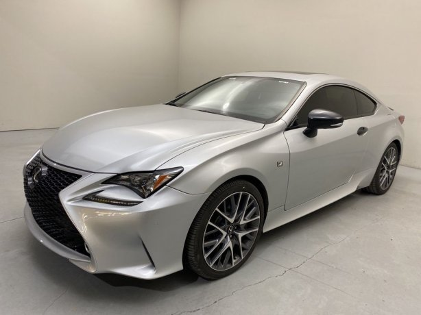 Used 2015 Lexus RC for sale in Houston TX.  We Finance!