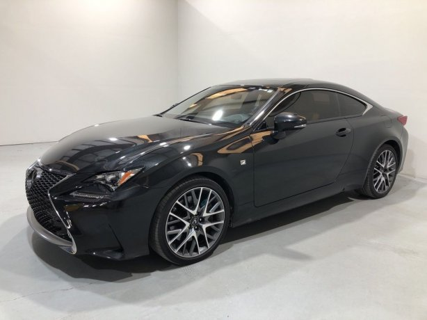 Used 2018 Lexus RC for sale in Houston TX.  We Finance!