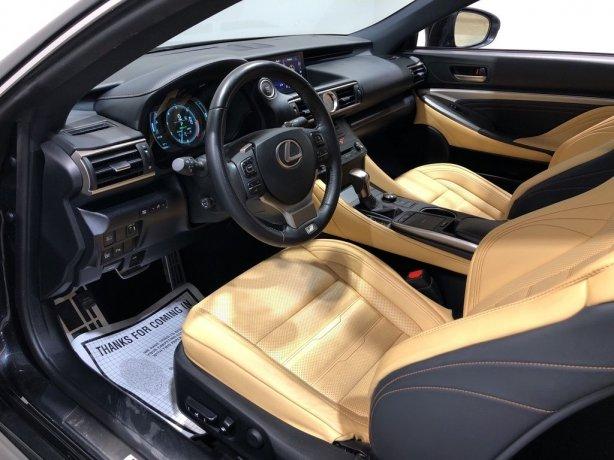 2018 Lexus RC for sale Houston TX