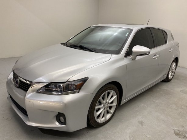 Used 2013 Lexus CT for sale in Houston TX.  We Finance!