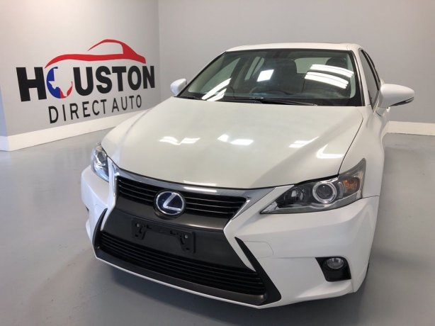 Used 2015 Lexus CT for sale in Houston TX.  We Finance!