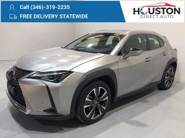 Used 2019 Lexus UX for sale in Houston TX.  We Finance!