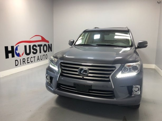 Used 2014 Lexus LX for sale in Houston TX.  We Finance!