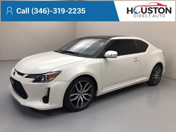 Used 2016 Scion tC for sale in Houston TX.  We Finance!