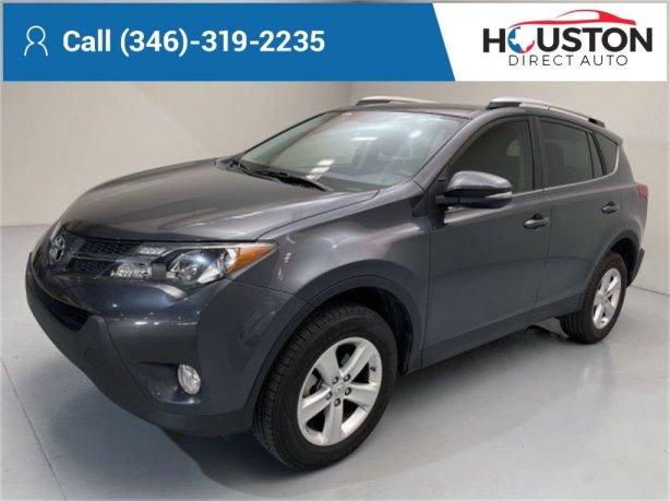 Used 2013 Toyota RAV4 for sale in Houston TX.  We Finance!