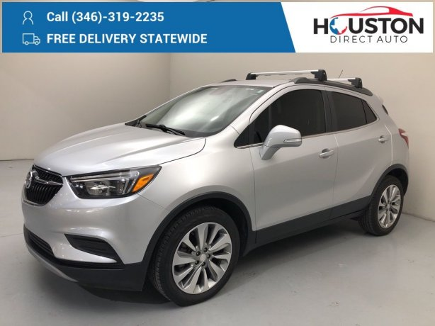 Used 2018 Buick Encore for sale in Houston TX.  We Finance!