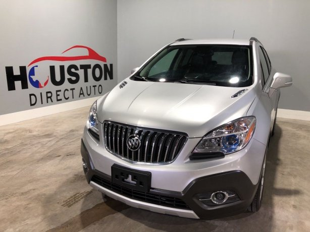 Used 2015 Buick Encore for sale in Houston TX.  We Finance!
