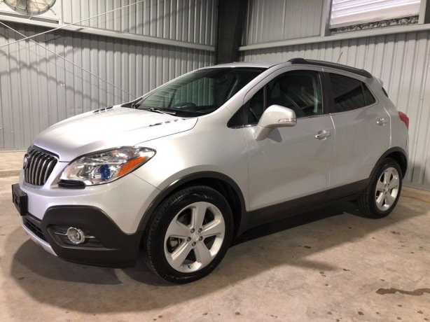 Used Buick Encore for sale in Houston TX.  We Finance!