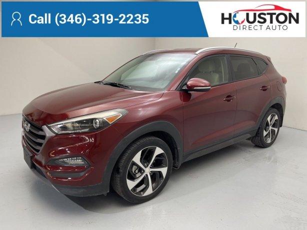 Used 2016 Hyundai Tucson for sale in Houston TX.  We Finance!