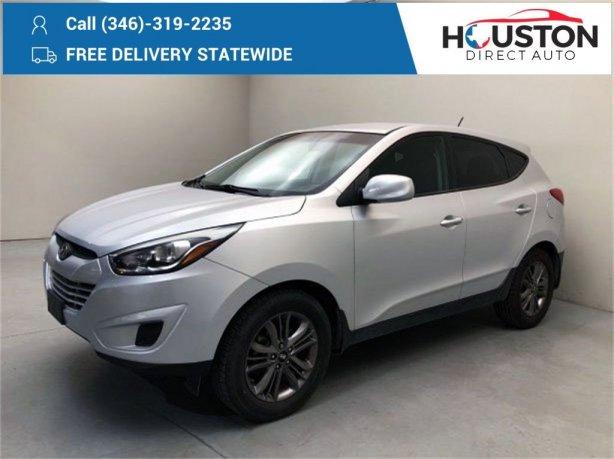 Used 2014 Hyundai Tucson for sale in Houston TX.  We Finance!