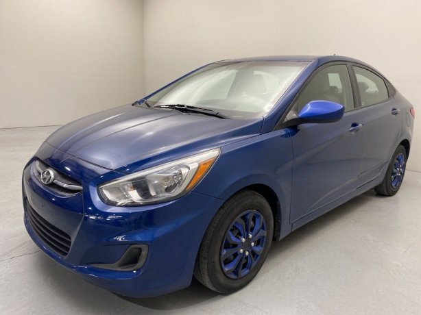 Used 2017 Hyundai Accent for sale in Houston TX.  We Finance!