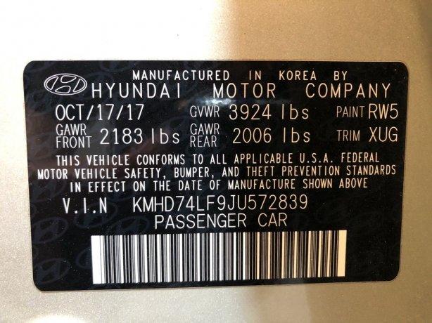 Hyundai 2018 for sale near me