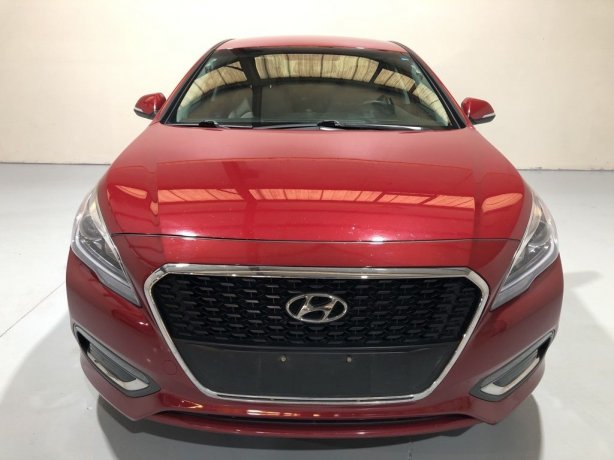 Used Hyundai Sonata Hybrid for sale in Houston TX.  We Finance!