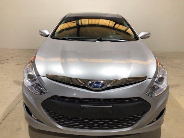 Used Hyundai Sonata Hybrid for sale in Houston TX.  We Finance!