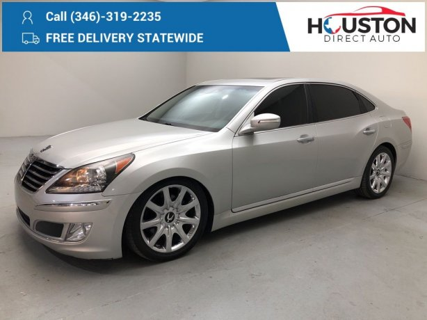 Used 2011 Hyundai Equus for sale in Houston TX.  We Finance!
