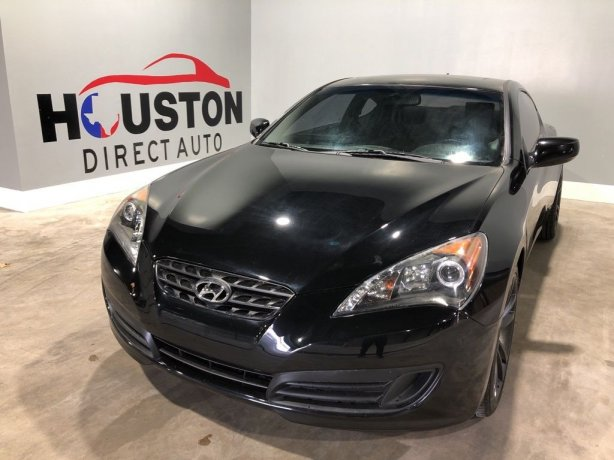 Used 2010 Hyundai Genesis Coupe for sale in Houston TX.  We Finance!