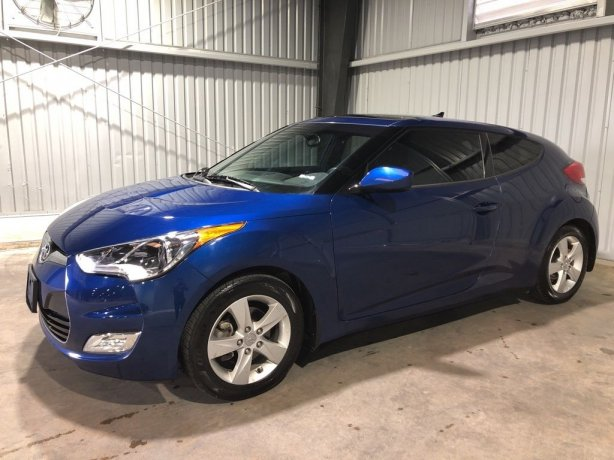 Used Hyundai Veloster for sale in Houston TX.  We Finance!