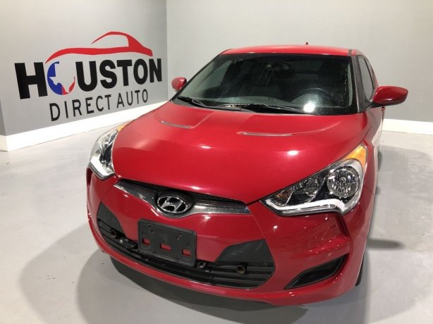 Used 2014 Hyundai Veloster for sale in Houston TX.  We Finance!