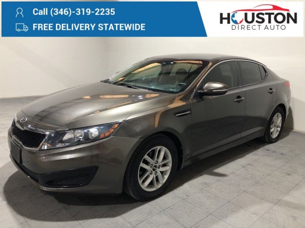 Used 2011 Kia Optima for sale in Houston TX.  We Finance!