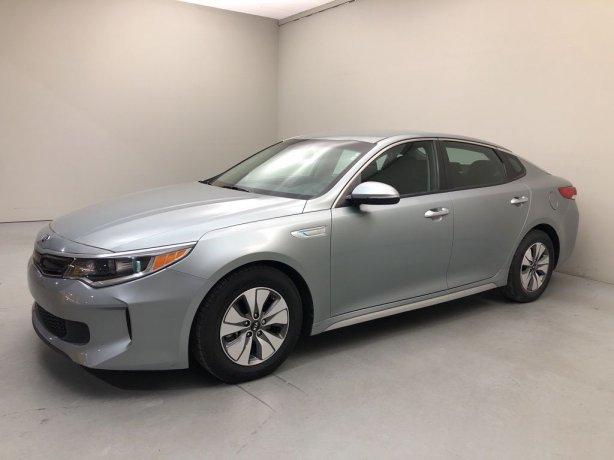 Used 2017 Kia Optima Hybrid for sale in Houston TX.  We Finance!