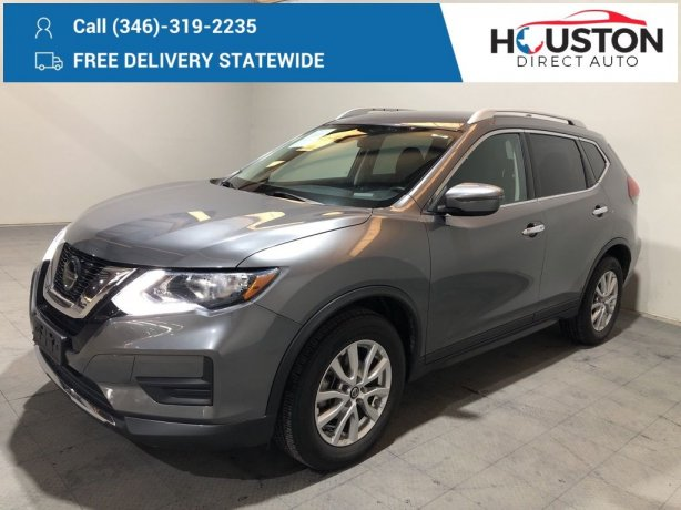 Used 2019 Nissan Rogue for sale in Houston TX.  We Finance!