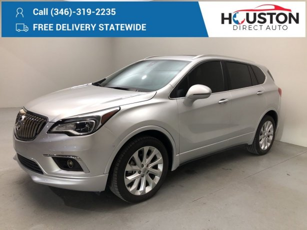Used 2016 Buick Envision for sale in Houston TX.  We Finance!
