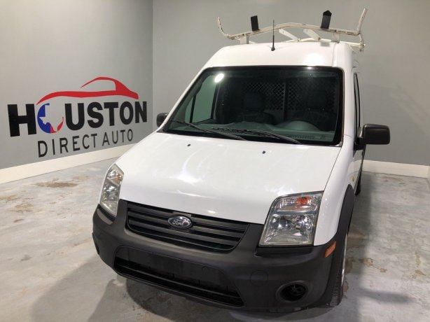 Used 2013 Ford Transit Connect for sale in Houston TX.  We Finance!