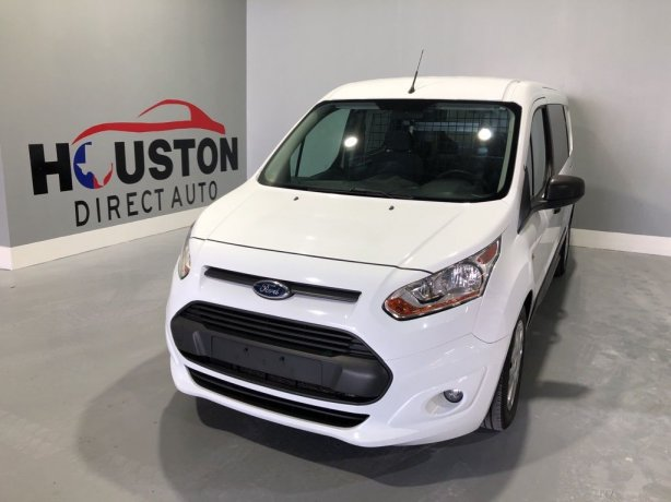 Used 2016 Ford Transit Connect for sale in Houston TX.  We Finance!