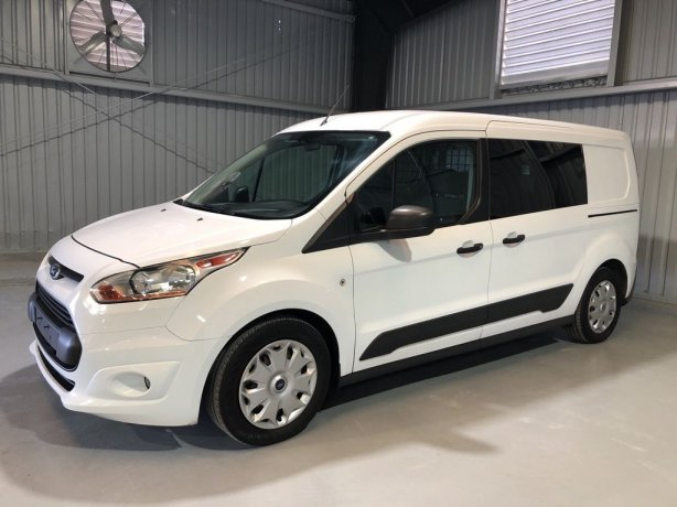 Used Ford Transit Connect for sale in Houston TX.  We Finance!