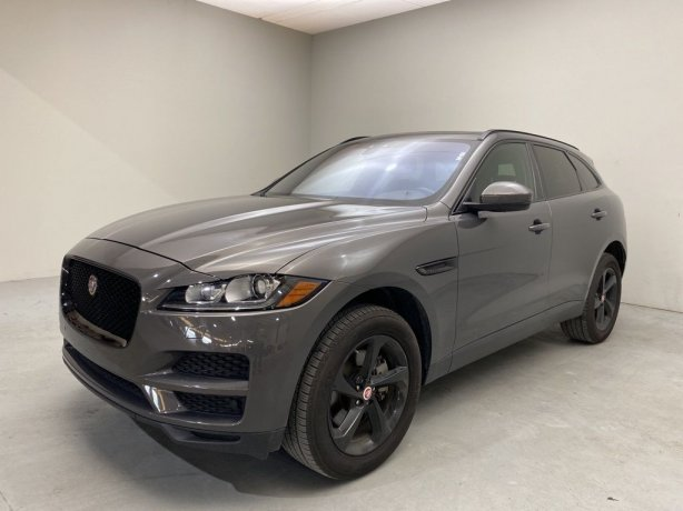 Used 2017 Jaguar F-PACE for sale in Houston TX.  We Finance!