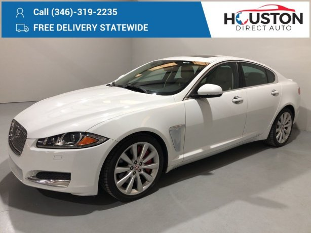 Used 2014 Jaguar XF for sale in Houston TX.  We Finance!