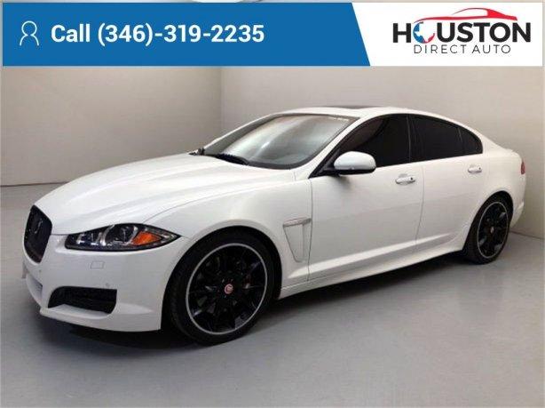 Used 2015 Jaguar XF for sale in Houston TX.  We Finance!