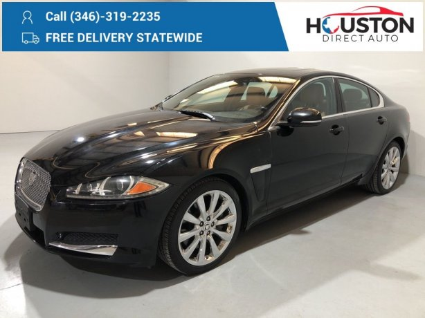 Used 2012 Jaguar XF for sale in Houston TX.  We Finance!