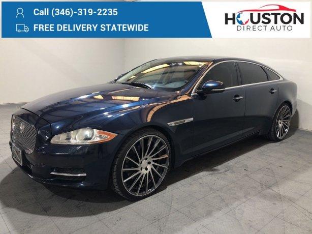 Used 2011 Jaguar XJ for sale in Houston TX.  We Finance!