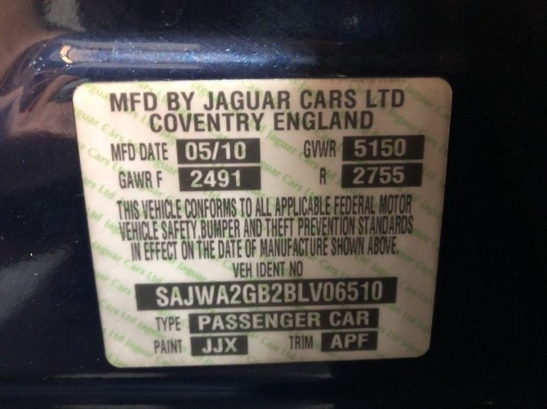 Jaguar 2011 for sale near me