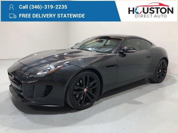 Used 2015 Jaguar F-TYPE for sale in Houston TX.  We Finance!