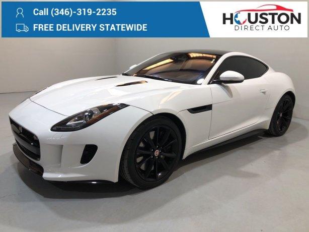 Used 2017 Jaguar F-TYPE for sale in Houston TX.  We Finance!