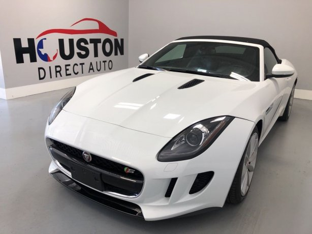 Used 2016 Jaguar F-TYPE for sale in Houston TX.  We Finance!