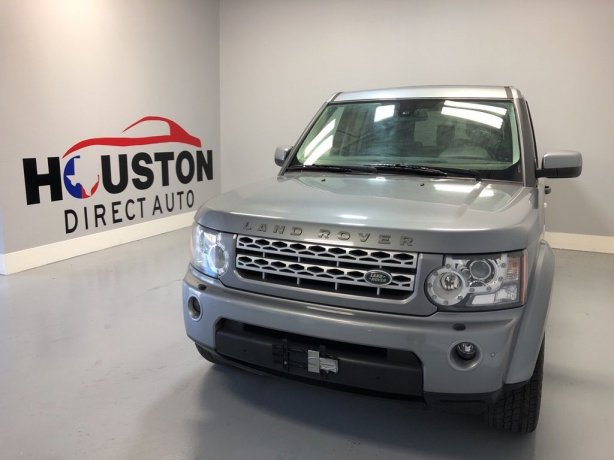 Used 2012 Land Rover LR4 for sale in Houston TX.  We Finance!