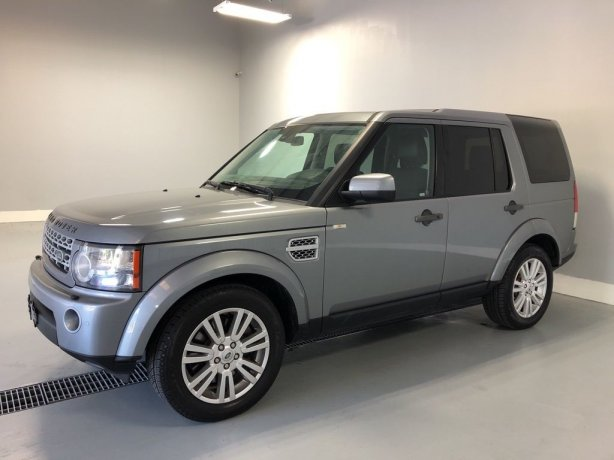 Used Land Rover LR4 for sale in Houston TX.  We Finance!