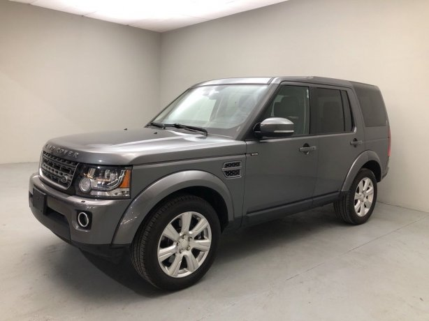 Used 2014 Land Rover LR4 for sale in Houston TX.  We Finance!