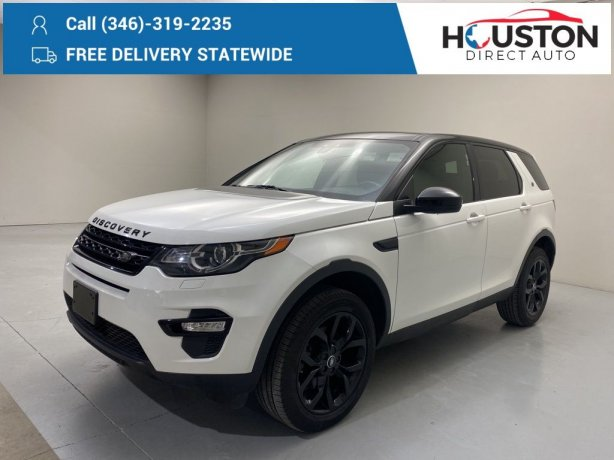 Used 2016 Land Rover Discovery Sport for sale in Houston TX.  We Finance!
