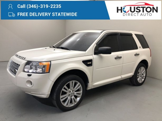 Used 2010 Land Rover LR2 for sale in Houston TX.  We Finance!