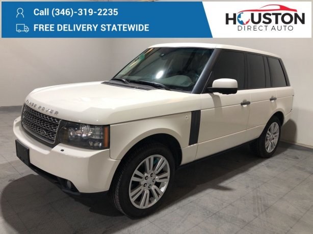 Used 2010 Land Rover Range Rover for sale in Houston TX.  We Finance!