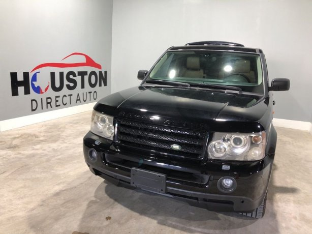 Used 2006 Land Rover Range Rover Sport for sale in Houston TX.  We Finance!