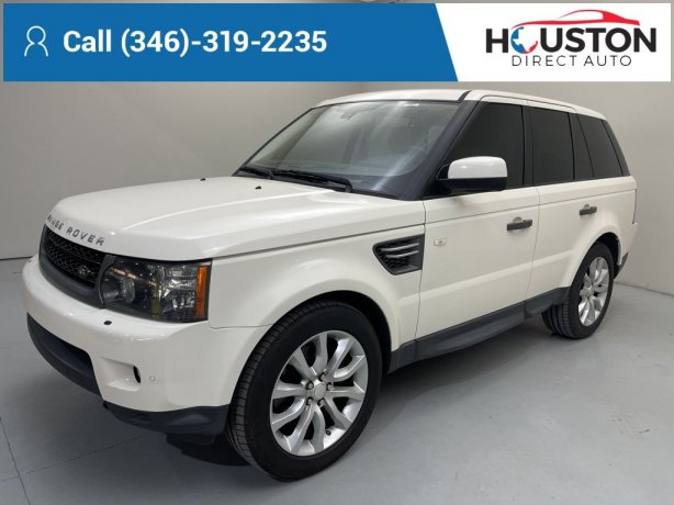 Used 2010 Land Rover Range Rover Sport for sale in Houston TX.  We Finance!